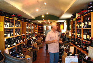 Wine Village Interior