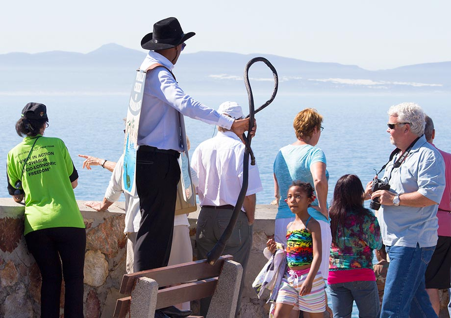 Whale Crier Shouting