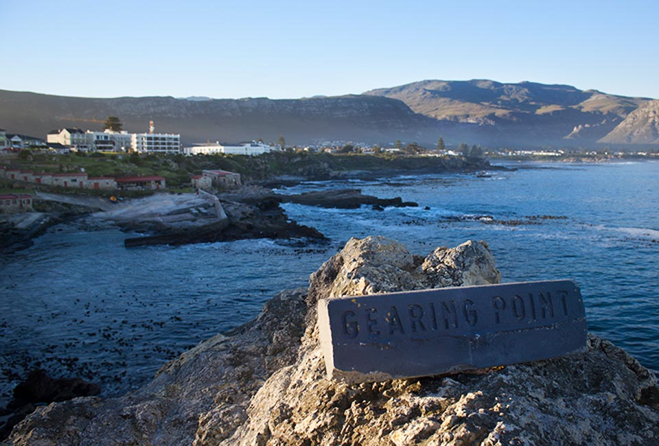 Gearing's Point overlooking Hermanus Old Harbour