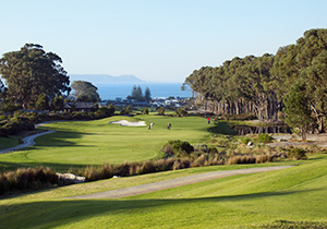 Hermanus Golf Course view of the ocean