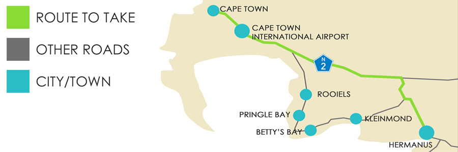 Mountain Route to Hermanus